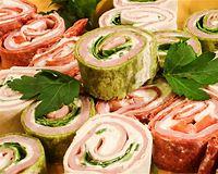 Ham Pickle Pinwheel