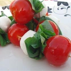 Mozzarella and Cherry Tomatoes