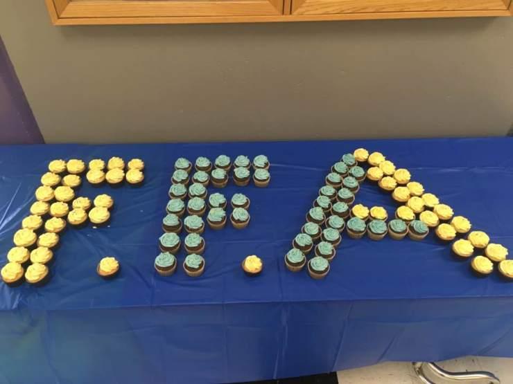 FFA Cupcakes